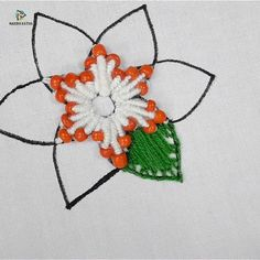 3 Simple Afghan Crochet Patterns Remain the Best Choice Hand Embroidery Flower Designs, Hand Embroidery Videos, Embroidery Stitches Tutorial, Embroidery Flowers Pattern, Creative Embroidery, Embroidery Techniques, Beaded Embroidery, Vintage Embroidery, Beginning Embroidery