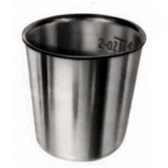Medline Dynd052Z Stainless Steel Medicine Cup, 2Oz.