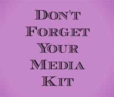 Why You Need a Media Kit and How to Make One by Crysta Icore