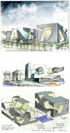 fabriciomora: Tianjin Ecocity Ecology and Planning Museums / Steven Holl Architects