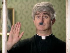 Father Ted - the fascist and chinese people in Ireland episode - hilarious! English Comedy, British Comedy, Best Of Ireland, Galway Ireland, Irish Memes, Mrs Browns Boys, Father Ted, You Make Me Laugh, The Funny