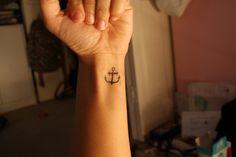 anchor. anchors, first tattoo, ear, anchor tattoos, wrist tattoos, sink, a tattoo, white ink, sailor style