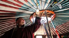 With Portable Solar, Nomadic Herders See The Light
