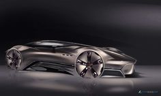 Maserati Hommage concept rendering by Francesco Gastaldi