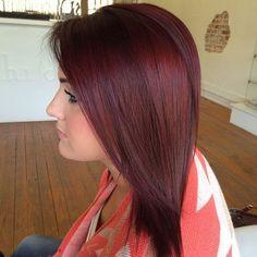 burgundy+hair+color
