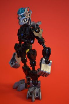 Protector-inspired Matoran frame | Designed to mimic the pro… | Flickr