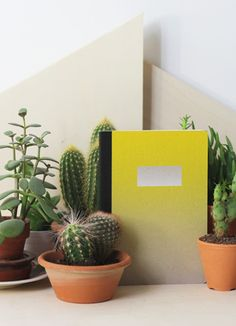 Sunset Notebook by Papier Tigre