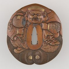 Sword Guard (Tsuba) | Japanese | The Met. Copper. Edo