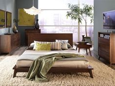 mid century modern bedrooms - Google Search