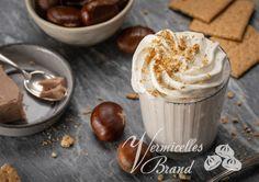 Rezepte - Vermicelles Brand Tiramisu, Gelatine, Pudding, Desserts, Food, Whipped Cream, Cacao Powder, Dessert Ideas, Food Food