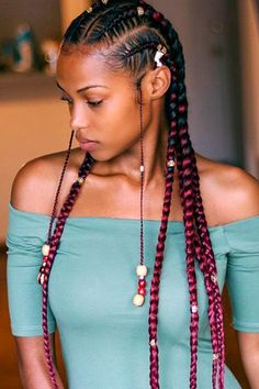 Hairstyles braid women 2015 american african for