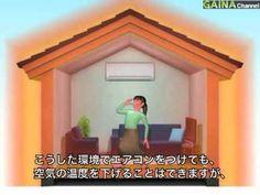 【遮熱・断熱効果】暑い(内装)夏の暑さをすっきり涼しく---GAINA