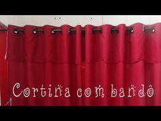 As cortinas são muito funcionais e também são elementos decorativos. Veja tutoriais incríveis de como fazer cortina e aprenda modelos diferentes. Valance Curtains, Lily, Projects, Design, Home Decor, Sewing Curtains, Curtains For Windows, Curtains For Kitchen, Bed Sheet Curtains