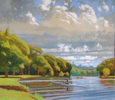 Brian Keeler Studio Artwork Gallery Landscape Paintings, Landscapes, Special Pictures, Water Art, Impressionist Art, American Artists, Serenity, Trees, Studio