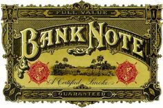Bank Note (cigar brand)