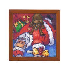Christmas Wish Desk Organizer by ITD Holidays.
