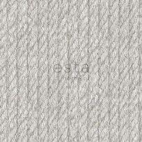 Tapetti Rope 138245, 0,53x10,05m, vaaleanharmaa