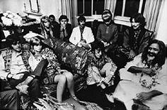 The Beatles with Maharishi Mahesh Yogi, 1967