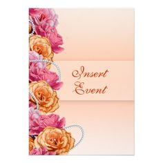 ReviewPink peach floral country party invitationsin each seller & make purchase online for cheap. Choose the best price and best promotion as you thing Secure Checkout you can trust Buy best