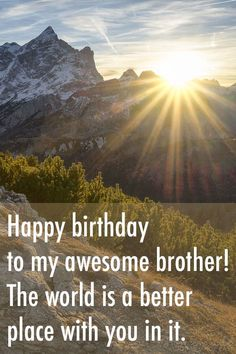 Happy Birthday Wishes for Brother - Best, Funny, Heart-touching, & More Birthday Brother Quotes Happy Birthday Little Brother, Birthday Greetings For Brother, Birthday Greetings Quotes, Happy Birthday Quotes For Friends, Birthday Quotes For Daughter, Best Birthday Wishes, Birthday Messages, Happy Birthday Me, Daughter Poems