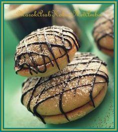 Chocolade-koffiekoekjes