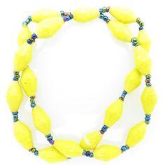 2-strand bracelet - yellow