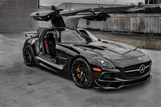 check at more Mercedes AMG SLS Black Series. The post Mercedes AMG SLS Black Series. appeared first on mercedes. Luxury Sports Cars, 4 Door Sports Cars, Cool Sports Cars, Best Luxury Cars, Cool Cars, Sport Cars, Mercedes Sls, Mercedes Wheels, Mercedes Black