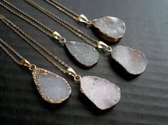 Druzy Necklace Druzy Pendant OR ANYTHING BY THIS SELLER!