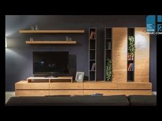 Kamoze Tree Tv Unit - Our new TV unit model is kamoze, this TV unit, which is a continuation of the collection, is produc - Tv Wall Design, Tv Unit Design, House Design, Modern Tv Cabinet, Modern Tv Wall Units, Tv Unit Furniture, Furniture Design, Living Room Tv Unit, Muebles Living