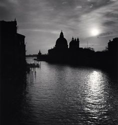 Grand Canal Sunset, Venice, Italy, 1987