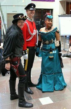 Twitter / AnnetteKroeze: Steampunk costumes at #FedCon ...