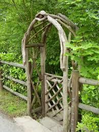 told myself i didn't want a garden gate....but this one is pretty irresistable: