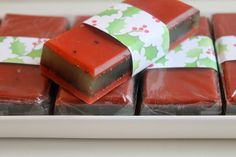 Organic cranberry & mint blend soap by HancoxHomestead on Etsy, $4.00