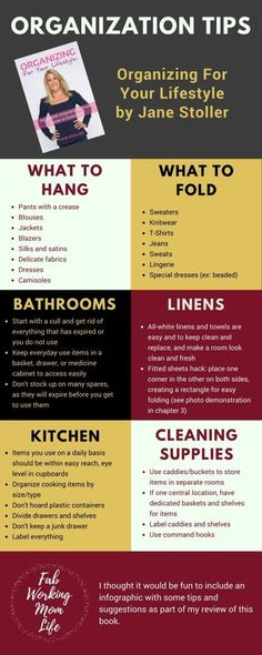 Organizing for Your Lifestyle, Bust Clutter Once and for All