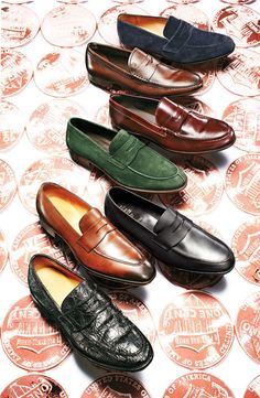 Luxe Loafers: 7 Classics Get an Upgrade: The Daily Details: Blog : Details