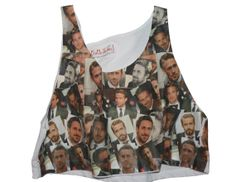 RYAN GOSLING loose cropped TANK top... by kayciwheatley on Etsy, $42.00
