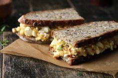 Chili + Fennel Egg Salad Sandwich / the bite house