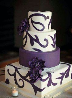 This is cute for a wedding but either stick with a circle or square, not both..