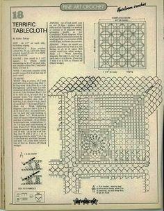 Crochet: Wipes square