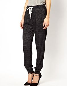 Image 4 of Selected Lega Sweat Pants in Burn Out