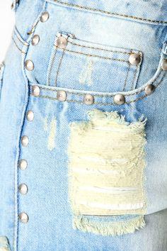 Rhian Studded Bleached Denim Hotpants £20 >> http://www.boohoo.com/denim-shorts/rhian-studded-bleached-denim-hotpants/invt/azz61197?cm_sp=Best%20Sellers-_-Category%20Page-_-azz61197#