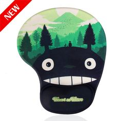 2017 Cartoon Mouse Pad cute Skid Resistance Memory Foam Comfort Wrist Rest Support Mousepad PC Mat