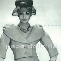 Magazine Advertisement L'Art et la Mode 1959 by paperdollgirls, $15.00
