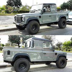 No automatic alt text available. Defender Td5, Land Rover Defender Pickup, Landrover Defender, My Dream Car, Dream Cars, Van 4x4, Offroader, 4x4 Off Road, Automobile