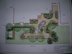 church memorial gardens and outside gathering space- concept two