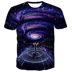 New Mysterious Galaxy T Shirt Men Tshirt Homme 2016 Mens Fashion Galaxy  Printed Funny T Shirts Slim Fit Tee Shirt T-shirt Men c84b39595f5e