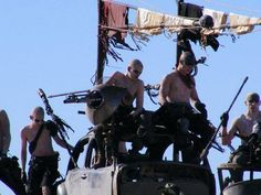 War Boys from Mad Max: Fury Road