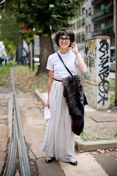 Style Icon: Eva Fontanelli, Editor of Elle Italia