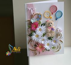 Neli Quilling Art: Children's joy