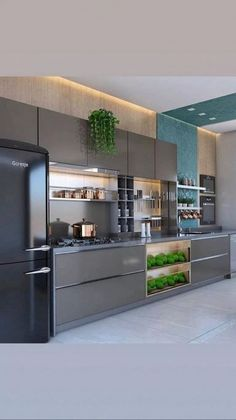 📣 72 Amazing Modern Kitchen Cabinets Design Ideas 6659 #modernkitchencabinet #kitchencabinet #kitchencabinetdesign